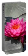 Fragrant Water Lily Portable Battery Charger