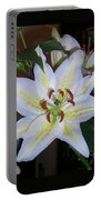 Fragrant White Lily Portable Battery Charger