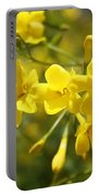 Fragrant Yellow Flowers Of Carolina Jasmine Portable Battery Charger