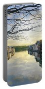 Framed Boathouses Portable Battery Charger