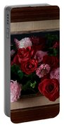 Framed Bouquet Of Flowers Portable Battery Charger