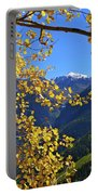 Framed By Fall Portable Battery Charger