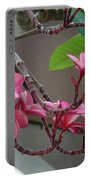Frangipani Flowers Portable Battery Charger