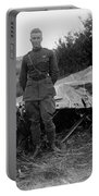 Frank Luke - Ww1 Fighter Ace Portable Battery Charger