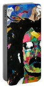 Frank Zappa Pop Art Portable Battery Charger