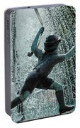 Frankenmuth Fountain Boy Portable Battery Charger