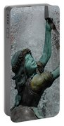 Frankenmuth Fountain Girl Portable Battery Charger