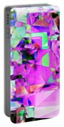 Frankenstein In Abstract Cubism 20170407 Square Portable Battery Charger