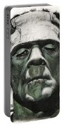 Frankenstein Portrait Portable Battery Charger
