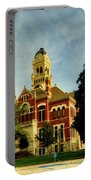 Franklin County Courthouse - Hampton Iowa Portable Battery Charger