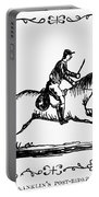 Franklin: Post Rider, 1775 Portable Battery Charger