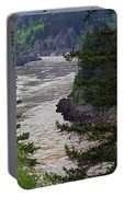 Fraser River British Columbia Portable Battery Charger