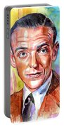 Fred Astaire Painting Portable Battery Charger