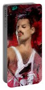 Queen Freddie Mercury Portable Battery Charger