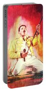 Freddy Mercury Portable Battery Charger