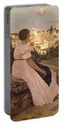 Frederic Bazille   The Pink Dress Portable Battery Charger