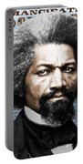 Frederick Douglass And Emancipation Proclamation Painting In Color  Portable Battery Charger