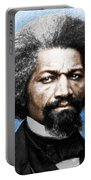 Frederick Douglass Painting In Color  Portable Battery Charger