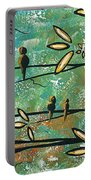 Free As A Bird By Madart Portable Battery Charger