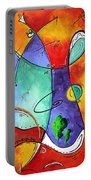 Free At Last Original Art By Madart Portable Battery Charger