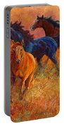 Free Range - Wild Horses Portable Battery Charger