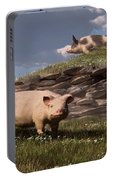 Free Range Pigs Portable Battery Charger