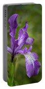 Free Ranging Wild Iris Portable Battery Charger