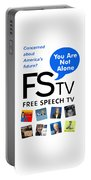 Free Speech Tv Portable Battery Charger