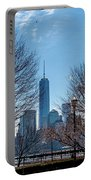 Freedom Tower Framed Portable Battery Charger
