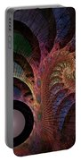 Freefall - Fractal Art Portable Battery Charger