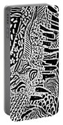 Freestyle 3 Abstract Portable Battery Charger