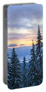 Freezing Sunset 13 Portable Battery Charger