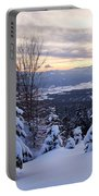 Freezing Sunset 22 Portable Battery Charger
