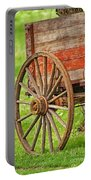 Freight Wagon Wheel Portable Battery Charger