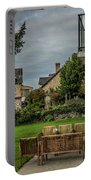 French Architecture Portable Battery Charger