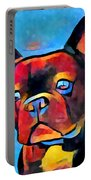 French Bulldog Portable Battery Charger
