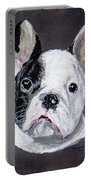 French Bulldog Close Up Portable Battery Charger