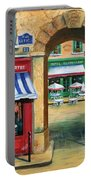French Butcher Shop Portable Battery Charger