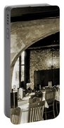 French Country Restaurant 2 Portable Battery Charger