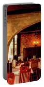 French Country Restaurant Portable Battery Charger