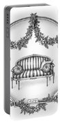 French Country Sofa Portable Battery Charger