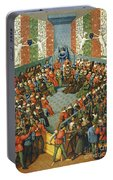 French Court, 1458 Portable Battery Charger