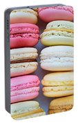 French Delicious Dessert Macaroons Portable Battery Charger