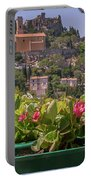 French Flowers Portable Battery Charger