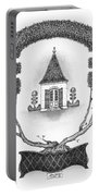 French Garden House Portable Battery Charger