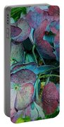 French Hydrangea Rainbow Portable Battery Charger