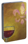 French Merlot Portable Battery Charger