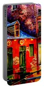 French Quarter Dazzle Portable Battery Charger