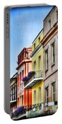 French Quarter In Summer Portable Battery Charger