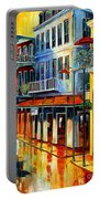 French Quarter Sunrise Portable Battery Charger